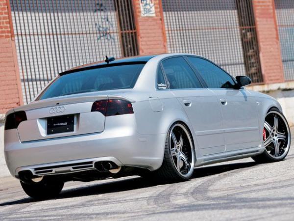 Trunk Spoiler Audi A4 B7 05 07 3 Pieces A Look