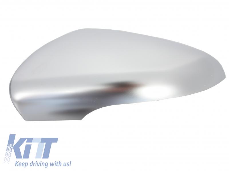 Calotte specchio VW Golf VI (2008-2014) Brushed Aluminum Desgin
