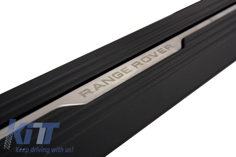 Deployed Side Steps For Range Rover Genuine Accessory: Range Rover Vogue L405 13-15 Power Electric Running Boards