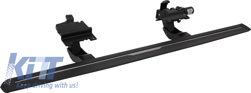Deployed Side Steps For Range Rover Genuine Accessory: Range Rover Sport L494 14-15 Power Electric Running Boards