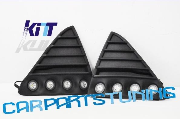 Griglia completa di luci diurne DRL Ford Focus MK3 2011-2012