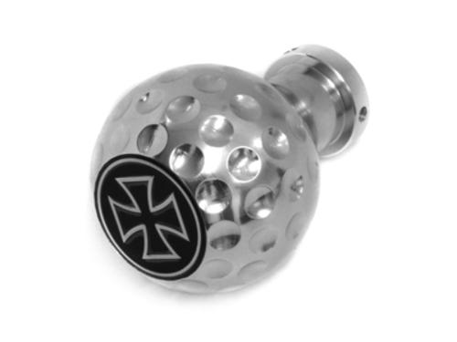 pomo Iron Cross_look pelota_montaje universal