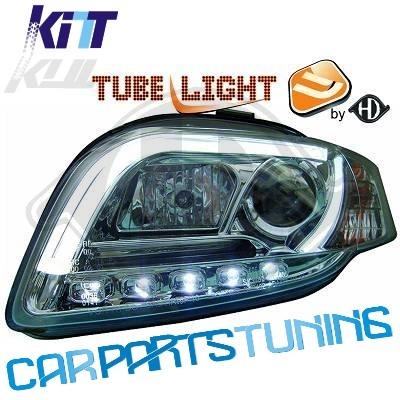 Fari Audi A4 B7 04-08 TFL LIGHT BAR TUBE LIGHT