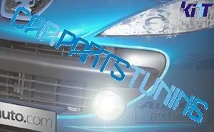 Luci diurne a led universali fendinebbia x Dacia, Peugeot, Citroen
