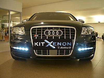 Luci diurne Audi S6 - Audi S6 tfl