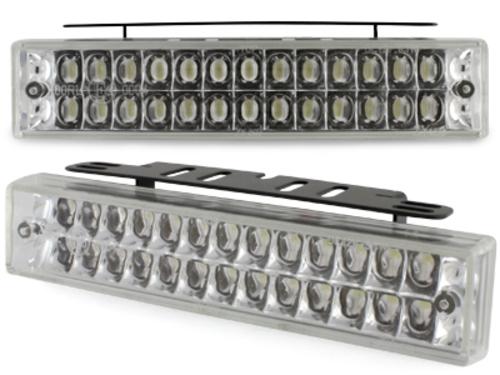 Luci diurne 26 LED LxHxT 140x30x40mm (2 pezzi)