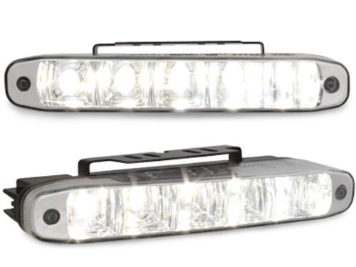 ilumininación LED luz diurna 5 hipower LED_160x24x54mm