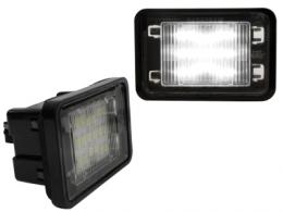 LED License Plate MERCEDES BENZ class GLK X204 08+ - LPLMB06