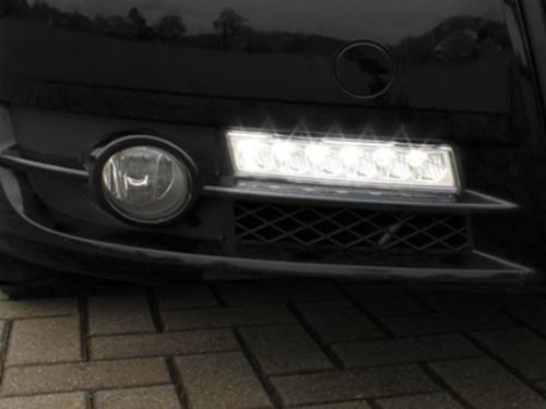 Griglia x fendinebbia con luci diurne Audi A4 8E B7 05-08 + xenon