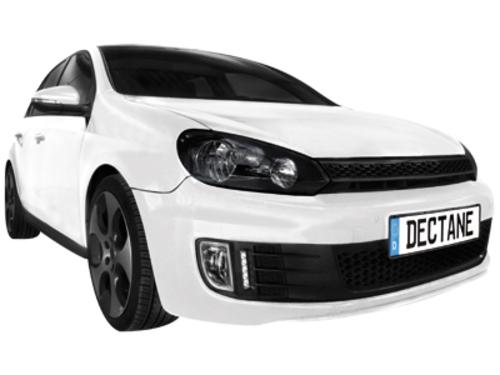 Griglia x fendinebbia con luci diurne VW Golf Vl GTI/GTD 09+