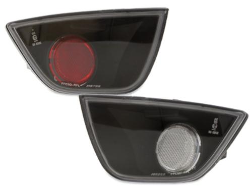 luz antiniebla trasera cristal Ford Focus_negro