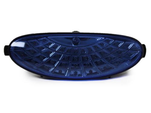 faros antiniebla Peugeot 206/206cc_43 LED_azul