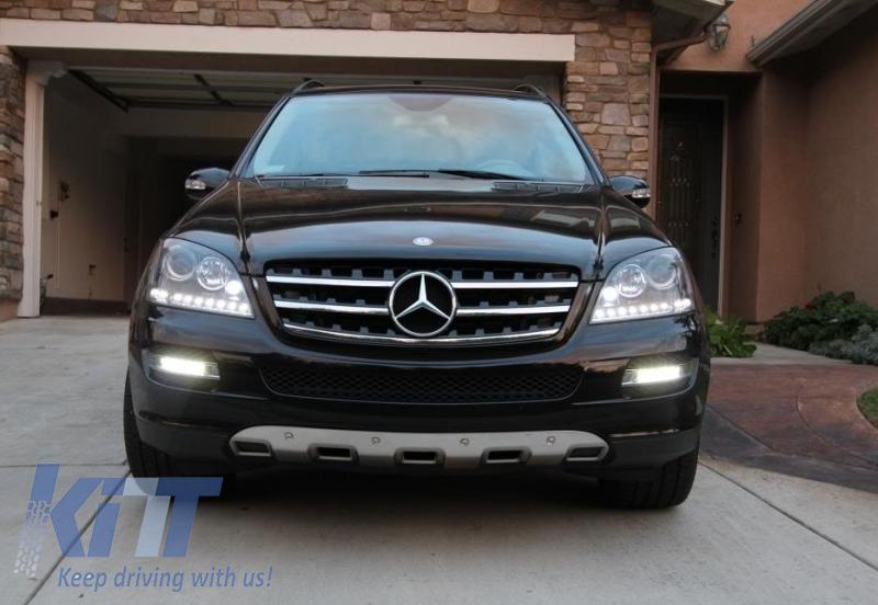 Piastra di protezione anteriore e posteriore Mercedes ML350 W164 2005-2008