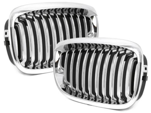 Sport Grill grille BMW E46 Coupe/Cabrio 3er 02-05 chrome