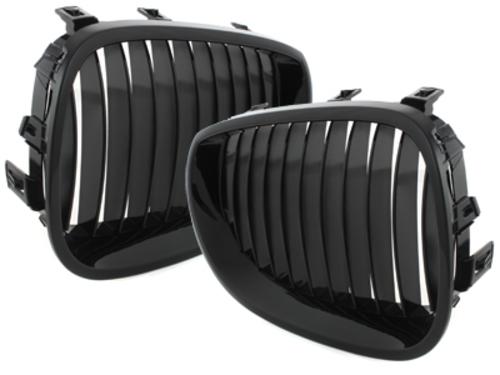 parilla BMW E60 E61 5er 03-05_negro brillante