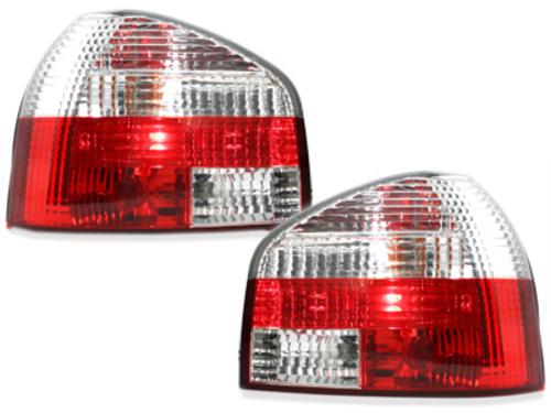 pilotos traseros Audi A3 8L 09.96-04_rojo/chrome