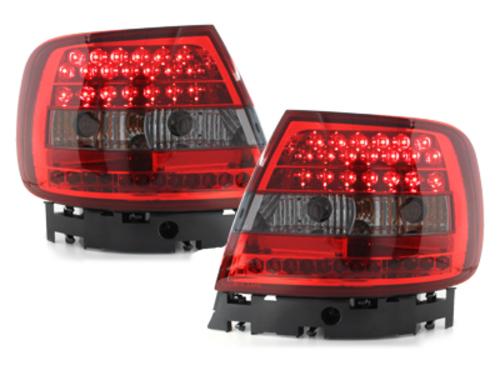 pilotos traseros Audi A4 B5 Lim. 95-10/00 rojo/ahumado