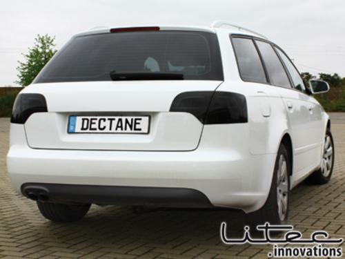 Fanali posteriori LED Audi A4 B7 04-08 nero / fum