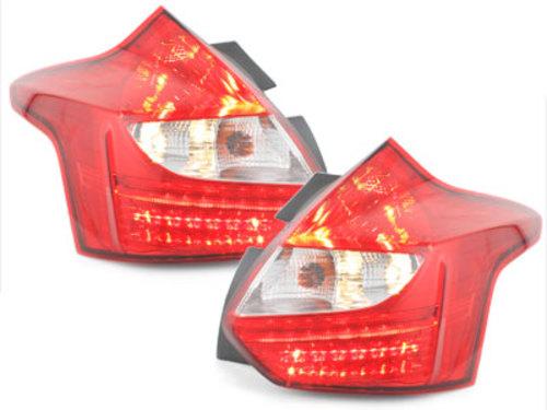 LED Lanterna traseira Ford foco 11-vermelho / claro