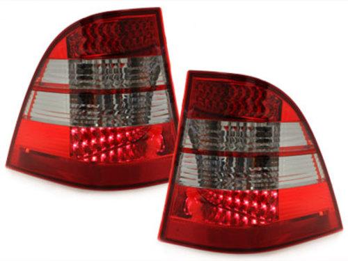 pilotos traseros LED Mercedes Benz W163 clase M_rojo/ahumado