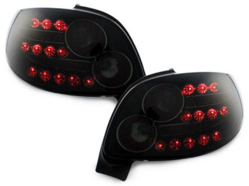 pilotos traseros LED Peugeot 206cc 98-09_negro/ahumado