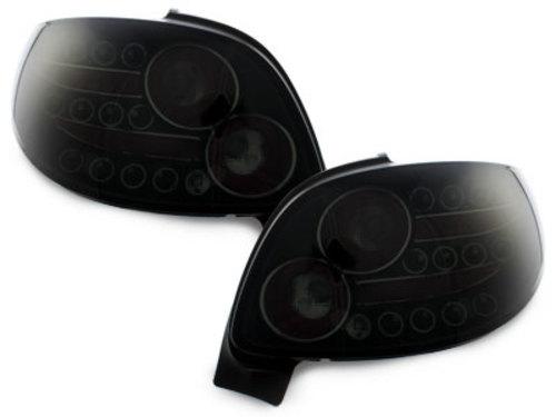 Fanali posteriori LED Peugeot 206 CC 98-09 nero / fumè