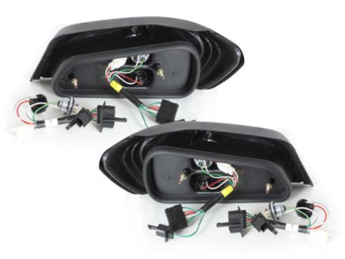 Fanali posteriori LED Peugeot 306 92-96 nero
