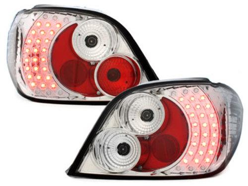 Fanali posteriori LED Peugeot 307 01-05 crystal