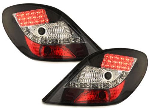 pilotos traseros LED Peugeot 207 06-05.09_negro
