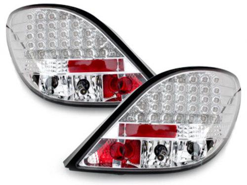 Fanali posteriori LED Peugeot 207 06-05.09  crystal