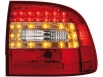 Fanali posteriori LED Porsche Cayenne 2003-2007 red/crystal