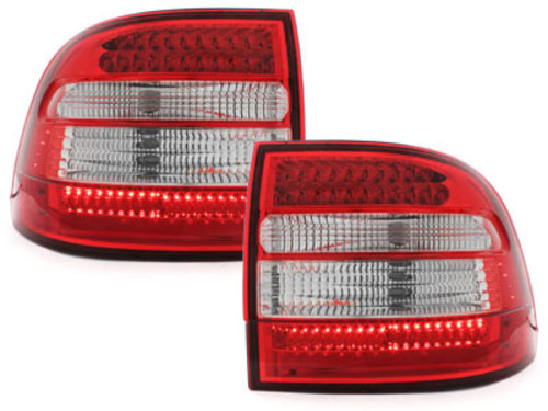 pilotos traseros LED Porsche Cayenne 03-07_rojo/cristal