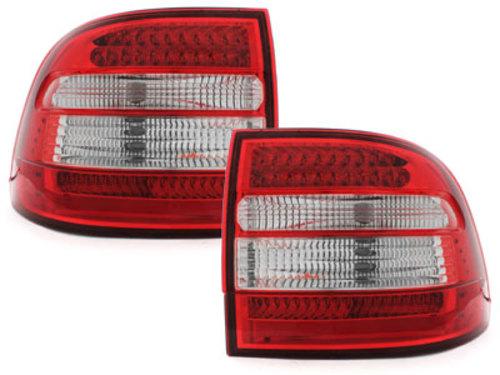 Fanali posteriori LED Porsche Cayenne 03-07 red/crystal
