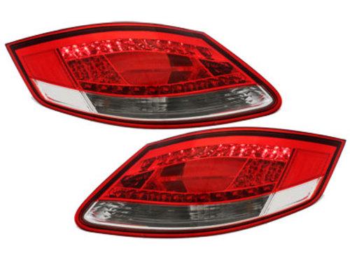 pilotos traseros LED Porsche Boxster 987,Cayman_rojo/cristal
