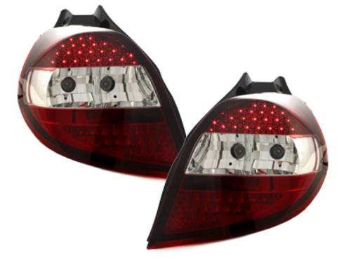 pilotos traseros LED Renault Clio 05-09_rojo/cristal