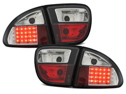 pilotos traseros LED Seat Leon 99-05_negro