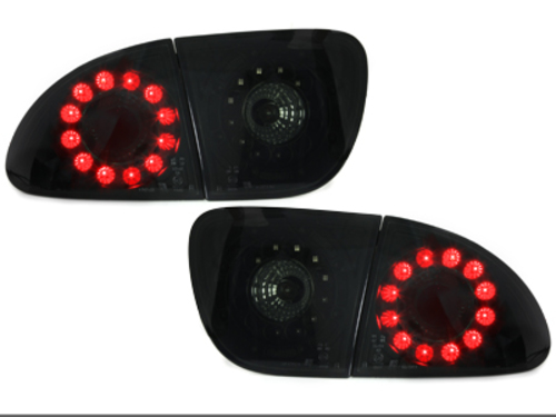 pilotos traseros LED Seat Leon 99-05_negro/ahumado