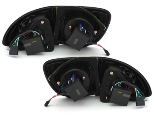 pilotos traseros LED Seat Ibiza 6J 04.08-11.12 negro/ahumado