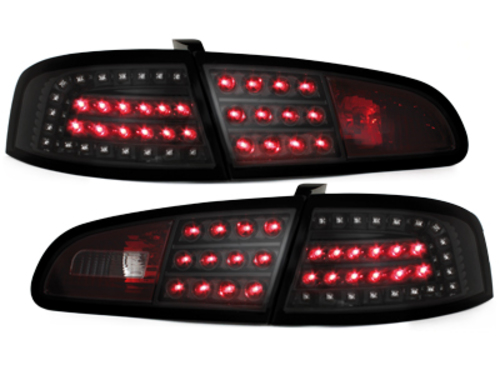 LITEC pilotos traseros LED Seat Ibiza 6L 02.02-08_negro