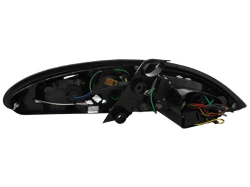 Fanali posteriori LED Seat Leon 05-09  1P  red/crystal