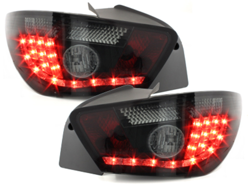 Fanali posteriori LED Seat Ibiza 6J 04.08+_ nero fumè
