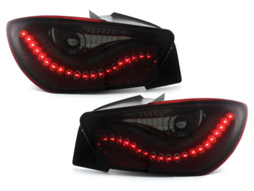 pilotos traseros LED Seat Ibiza 6J 04.08-11.12 rojo/ahumado