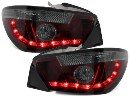 pilotos traseros LED Seat Ibiza 6J 04.08+ _rojo/ahumado
