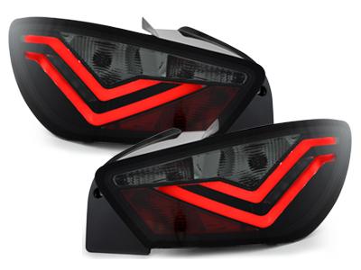 "**Dectane pilotos traseros LED Seat Ibiza 6J_04.08-12.14_\FR Design\""_negro/ahuma"""