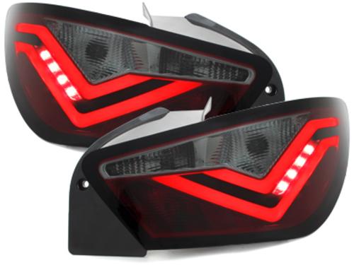 """**Dectane LED pilotos traseros Seat Ibiza 6J_04.08+_\FR\"""" Diseno_rojo/ahumado"""""""