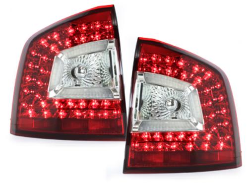LITEC pilotos traseros LED Skoda Octavia 1Z 04-11_rojo/cristal