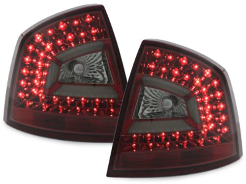 LITEC LED taillights Skoda Octavia 1Z Lim. 04-08_red/smoke - RSK04LRS