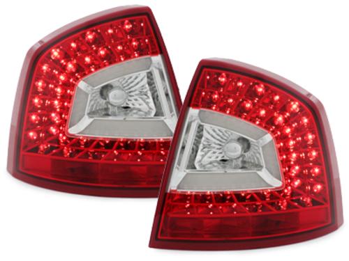LITEC pilotos traseros LED Skoda Octavia 1Z Lim. 04-11_rojo/cr