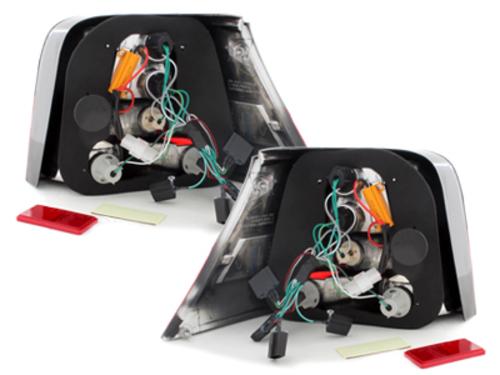 Fanali posteriori LED VW Golf IV 97-04 red/fumè