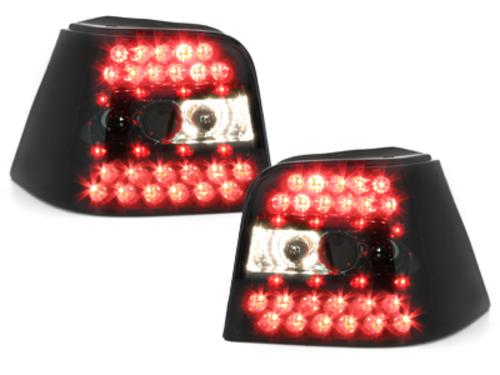 Fanali posteriori LED VW Golf IV 97-04 _nero fumè